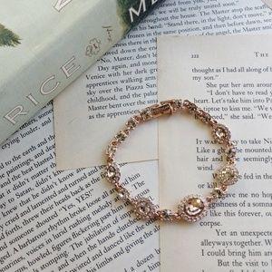 NWT GIVENCHY Crystal Flex Bracelet